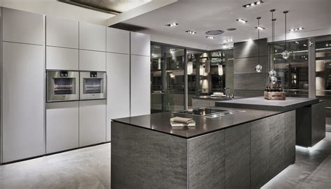 kitchen showroom design luxury kitchen showroom project grey 2541