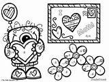 Slope Coloring Activity Finding Edition Valentine Freebie Designlooter Valentines Nerdette Math 263px 12kb sketch template