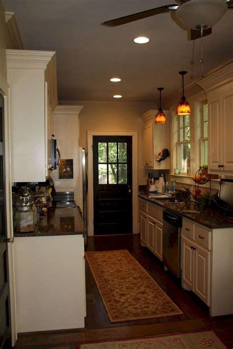 cool  straight  kitchen designs https