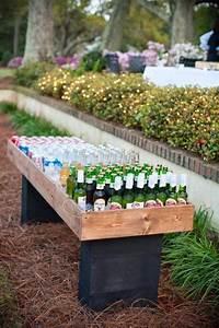 Bar Exterieur Bois : 10 diy g niaux pour des r ceptions inoubliables dans votre cour arri re ~ Teatrodelosmanantiales.com Idées de Décoration