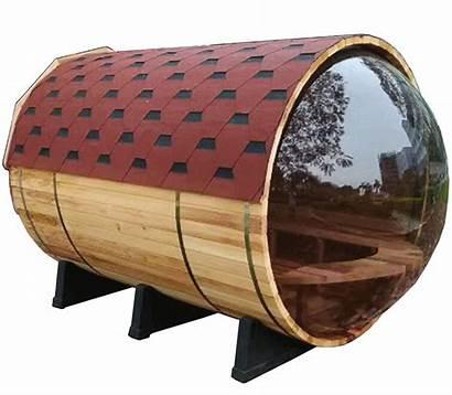 Sauna Aleko Wood Barrel Pine Dry Glass