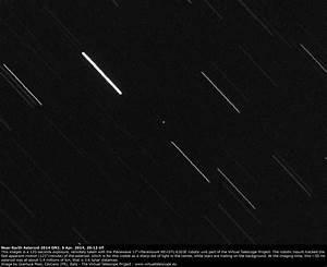 Near-Earth Asteroid 2014 GN1 very close encounter: images ...