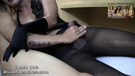 Malika Thick Cock Gets A Handjob Then Cums On Her Black