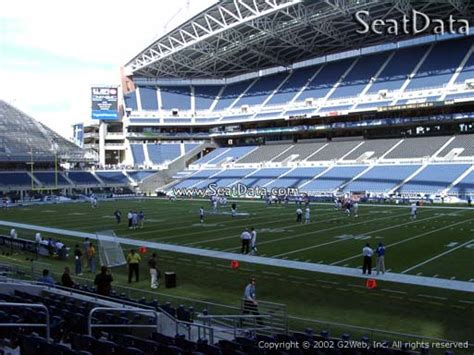 Seat View from Section 131 at CenturyLink Field | Seattle ...