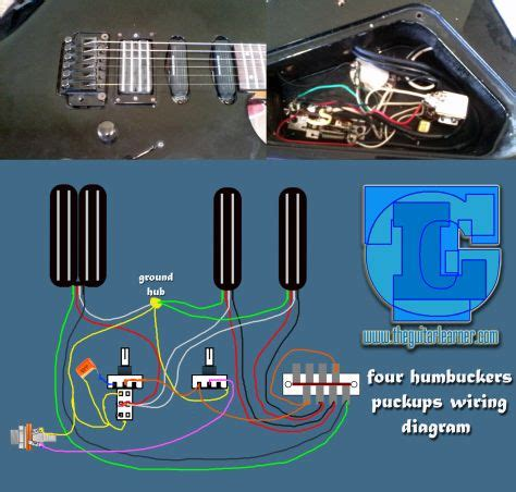 humbuckers pickup wiring diagram  hotrails