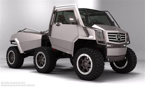 Mercedes pickup truck 6 wheel. Un-official Mercedes 6x6 concept   Adventure Rider