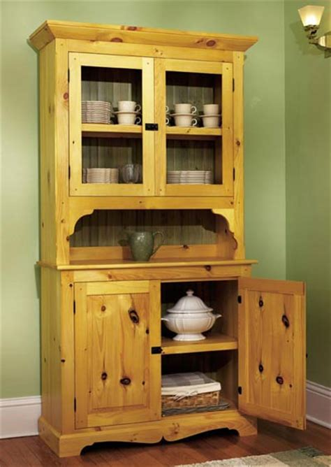 heirloom pine hutch woodworking plan  wood magazine