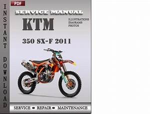 Ktm 350 Sx-f 2011 Factory Service Repair Manual Download