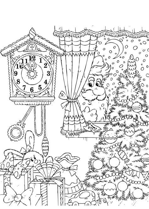 Kleurplaten Kerst by De Allermooiste Kerst Kleurplaten Tijd Met Kinderen