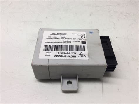 tire pressure monitoring 2011 porsche 911 parental controls porsche 911 997 boxster cayman tire pressure monitor tpms module 99761810323 ebay