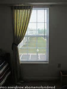 Photos of curtains with holdbacks