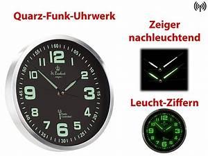 Uhrwerke Für Wanduhren : st leonhard funkwanduhr funk wanduhr mit quarz uhrwerk ~ A.2002-acura-tl-radio.info Haus und Dekorationen