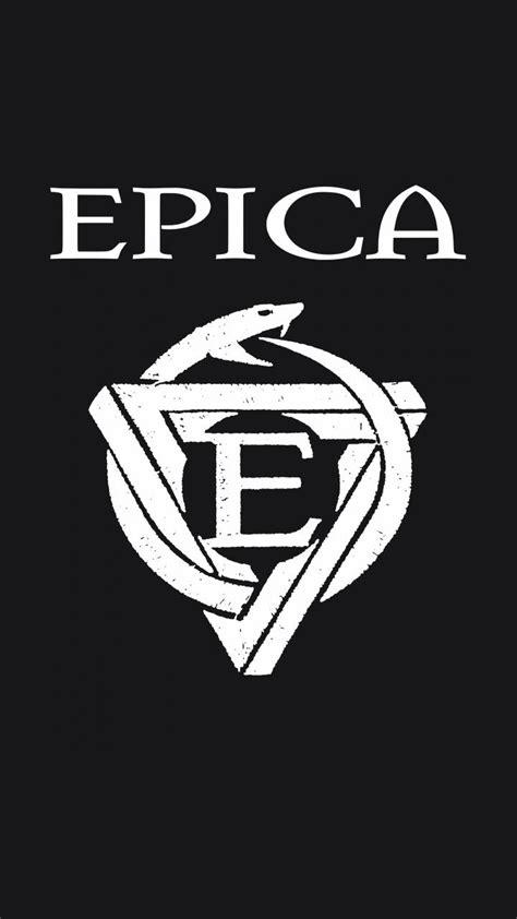 epica logo wallpaper wallpaper  leoartean