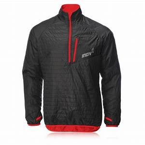 Inov-8 Mens Race Elite 260 Thermoshell Black Red Windproof ...