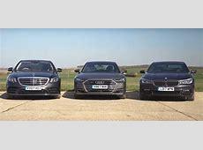 Mercedes SClass vs Audi A8 vs BMW 7 Series Is a Battle