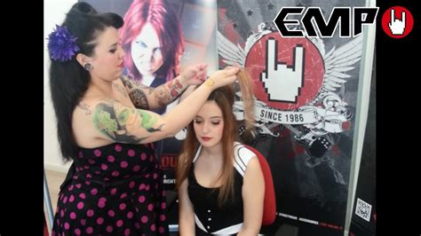 Rockabilly Pin Up Hairstyle Tutorial + Outfit Short Hairstyles Images For 2016 Hairstyle Cute Boy Curly Weddings Medium Hair Permanent Straightening Salons In Kolkata How To Style My Too Natural Twist Out Haircuts Straight Dry Faster Overnight