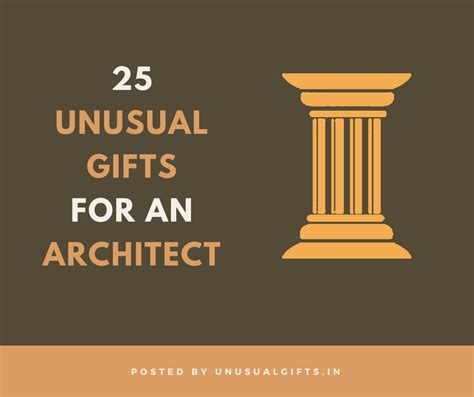 unusual gifts  architects unusual gifts