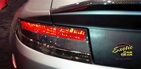 rear taillight inserts exotic car gear