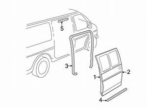Chevrolet Express 2500 Outer Panel  Included With  Door