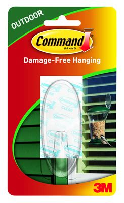 3m command large clear outdoor window hook 17093clr aw
