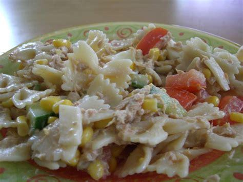 Salade De Pates Thon Mais by Salade De P 226 Te Au Thon Recettes By Chouchou