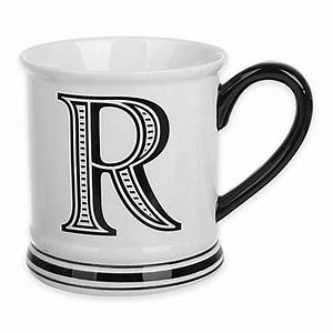 buy formations block letter quotrquot monogram mug from bed bath With letter r mug