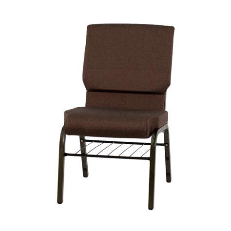church chairs 4 less hercules series 18 5 w church chair in brown fabric with