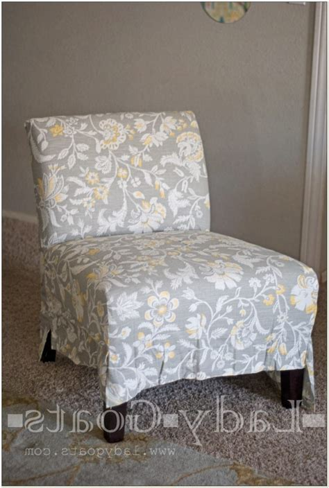 slipcover for armless chair slipper chair cover chairs seating
