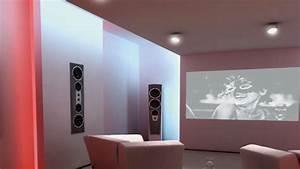 peinture interieur special home cinema magnetique ou anti With peinture murale interieur maison