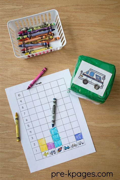 transportation preschool theme activities 186 | Printable Transportation Graphing Activity