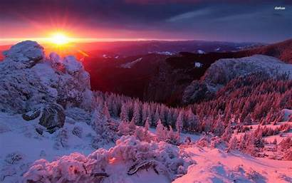 Winter Wallpapers Mountains Mountain Cave