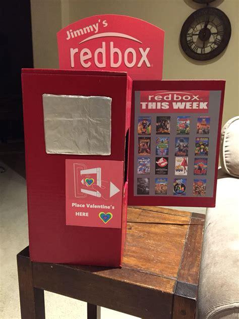 valentines day boxes  school redbox idea boys