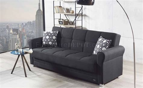Divano Sofa Bed Convertible Choice Of Color Fabric By Mobista