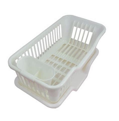 plastic dish plate spoon rack holder drainer drain board tray kitchen accessories storage