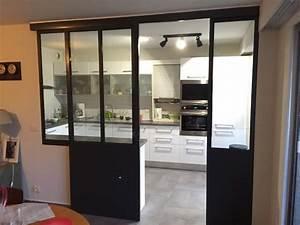 Verriere Interieure Coulissante : verri re int rieure cuisine s jour coulissante ~ Premium-room.com Idées de Décoration