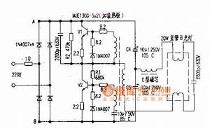 20w Fluorescent Lamp Electronic Ballast With With Mje13005 U00d72 Circuit Diagram
