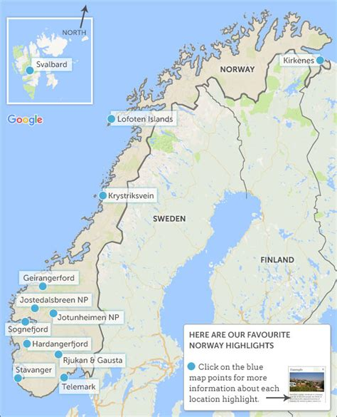 norway map highlights helping dreamers