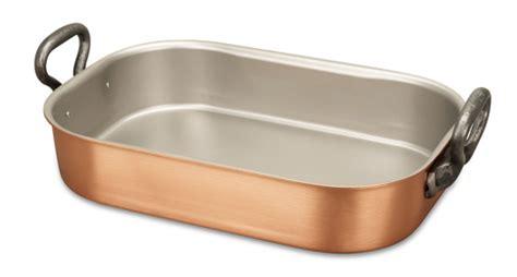 classical range   cm copper roasting pan falk copper cookware