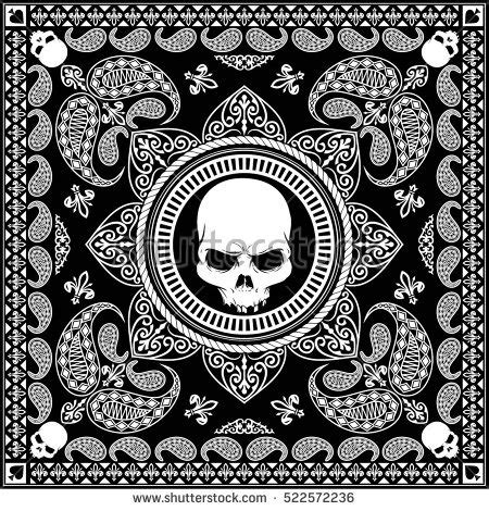 cool bandana designs bandana pattern stock images royalty free images