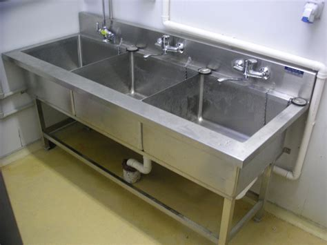 Kitchen Sink Air Gap Decorate 3 Compartment Sink The Home Redesign