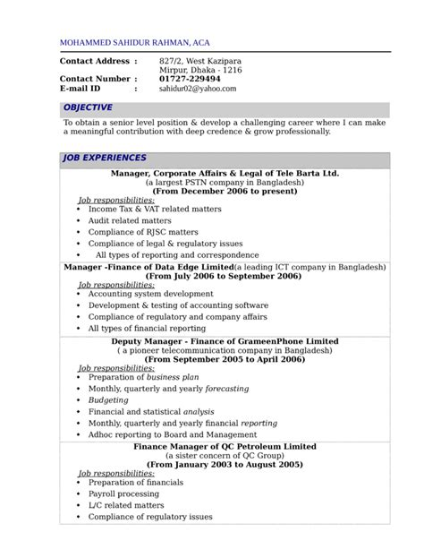 financial reporting manager cover letter sles sle finance resume template 7 free documents resume
