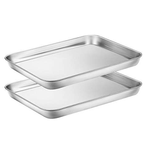 baking pans sheets toaster cookie stainless steel gotmixer hkj chef pieces oven