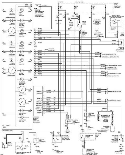 Ford Contour Instrument Cluster Wiring Diagram All