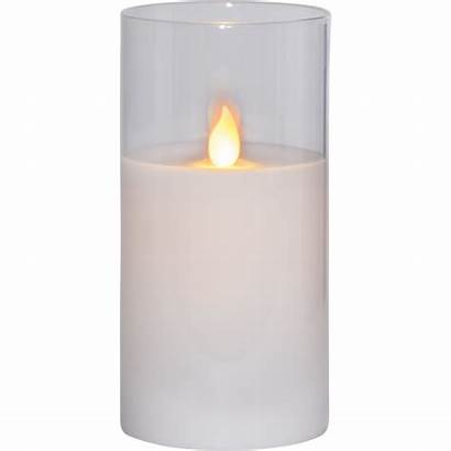 Led Twinkle Pillar Candle Echtwachs Bougie 15cm