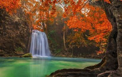 Waterfall Pond Thailand Wallpapers