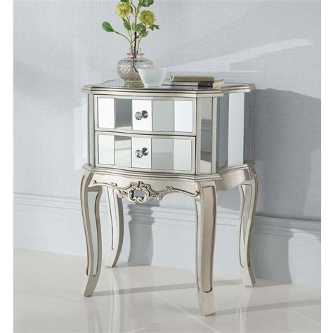 shabby chic mirrored furniture working well alongside our shabby chic furniture comes this argente mirrored antique french