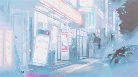 Anime Wallpaper Pastel - anime is mine 5 cm convenience store pastel