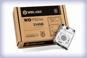 Western Digital releases 314 GB Raspberry Pi dedicated HDD ...