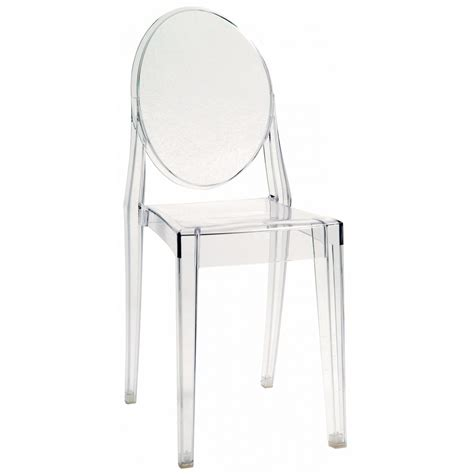 chaise ghost starck ghost chair