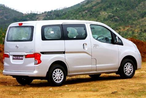 Hire 7 Seater Nissan Evalia Passenger Van, Nissan Car